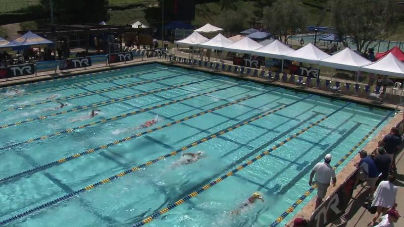 Women's 400 Freestyle Heat 03 - 2012 Mission Viejo Swim Meet of Champions