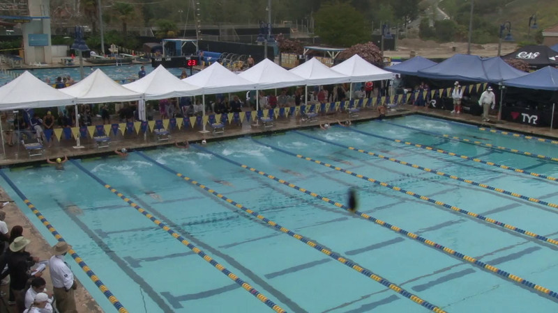 Women's 100 Breaststroke Heat 14 - 2012 Mission Viejo Swim Meet of Champions