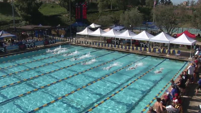Men's 100 Freestyle Heat 12 - 2012 Mission Viejo Swim Meet of Champions
