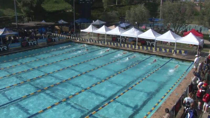 Women's 200 Freestyle Heat 01 - 2012 Mission Viejo Swim Meet of Champions