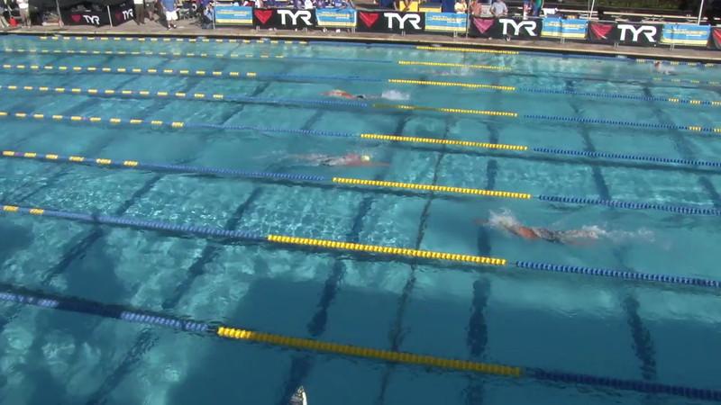 Men's 1500 Freestyle Heat 01 - 2012 Mission Viejo Swim Meet of Champions
