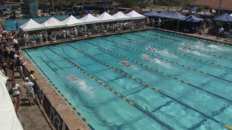 Men's 50 Freestyle Heat 10 - 2012 Mission Viejo Swim Meet of Champions