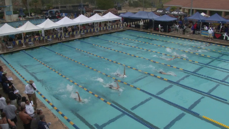 Men's 100 Backstroke Heat 05 - 2012 Mission Viejo Swim Meet of Champions