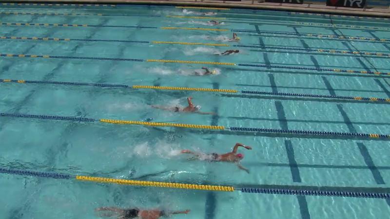 Men's 400 Freestyle Heat 07 - 2012 Mission Viejo Swim Meet of Champions
