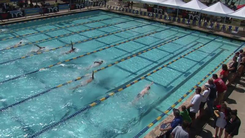 Men's 200 Backstroke Heat 02 - 2012 Mission Viejo Swim Meet of Champions