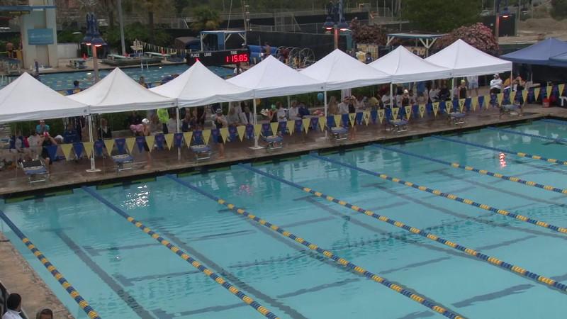 Women's 100 Butterfly Final B - 2012 Mission Viejo Swim Meet of Champions