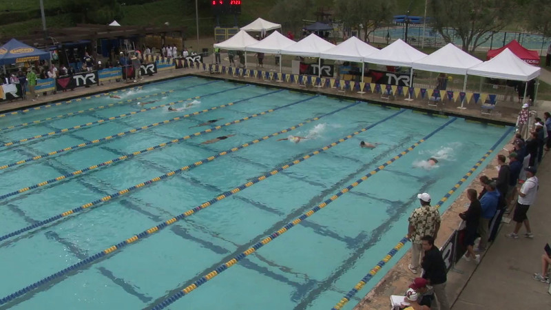 Men's 100 Breaststroke Final C - 2012 Mission Viejo Swim Meet of Champions