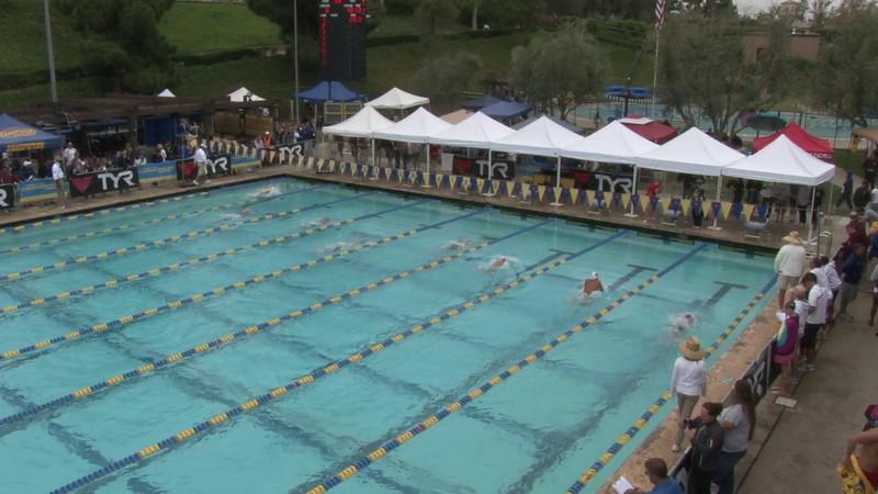 Men's 100 Butterfly Heat 04 - 2012 Mission Viejo Swim Meet of Champions