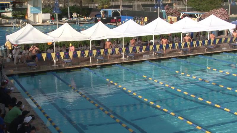 Men's 200 Freestyle Final B - 2012 Mission Viejo Swim Meet of Champions