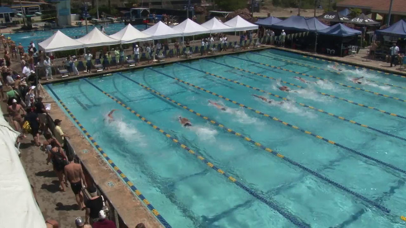 Men's 50 Freestyle Heat 11 - 2012 Mission Viejo Swim Meet of Champions