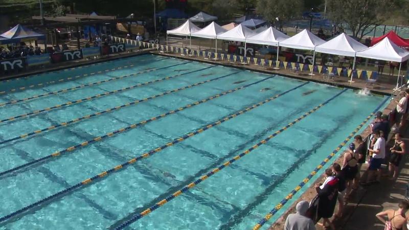 Women's 100 Freestyle Heat 10 - 2012 Mission Viejo Swim Meet of Champions