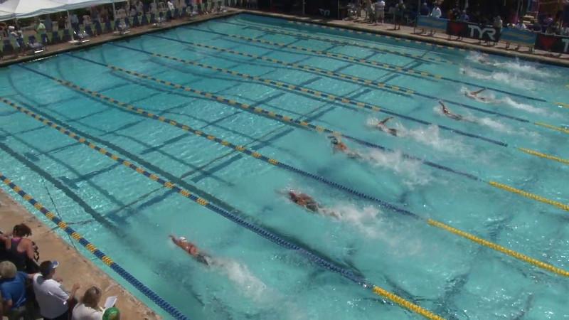 Women's 50 Freestyle Heat 10 - 2012 Mission Viejo Swim Meet of Champions