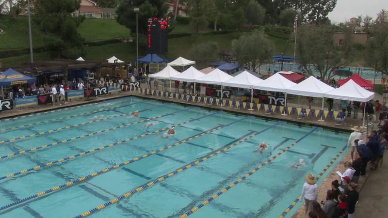 Women's 100 Butterfly Heat 08 - 2012 Mission Viejo Swim Meet of Champions