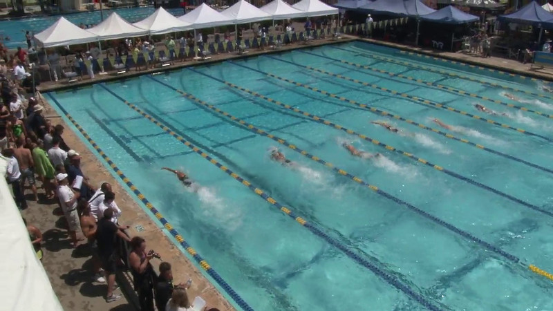 Women's 50 Freestyle Heat 15 - 2012 Mission Viejo Swim Meet of Champions