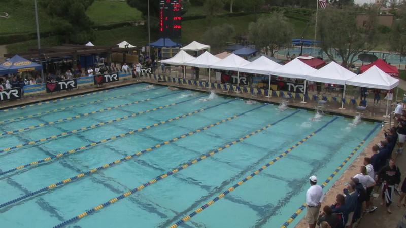 Women's 100 Breaststroke Heat 03 - 2012 Mission Viejo Swim Meet of Champions