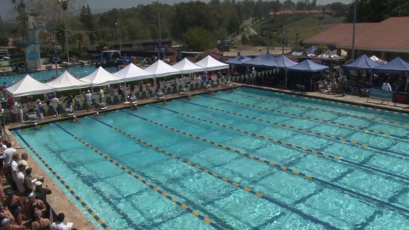 Women's 50 Freestyle Heat 04 - 2012 Mission Viejo Swim Meet of Champions