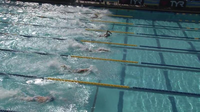 Men's 100 Freestyle Heat 02 - 2012 Mission Viejo Swim Meet of Champions