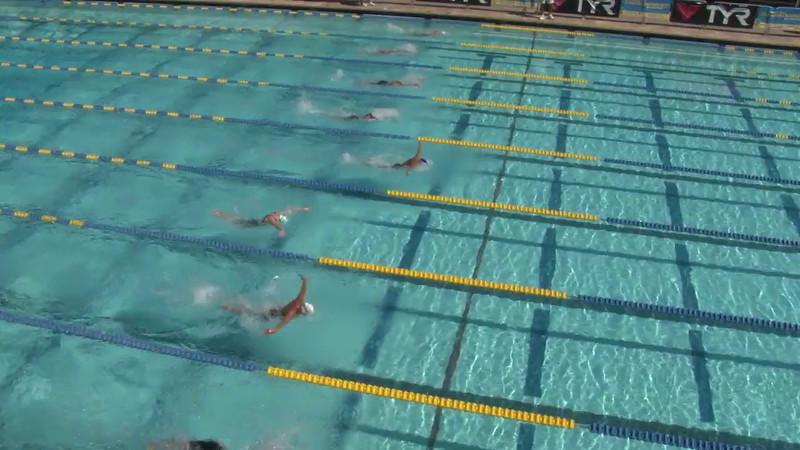 Women's 400 Medley Heat 15 - 2012 Mission Viejo Swim Meet of Champions