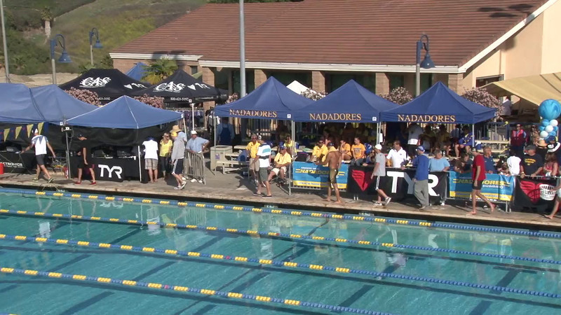 Men's 100 Freestyle Final A - 2012 Mission Viejo Swim Meet of Champions