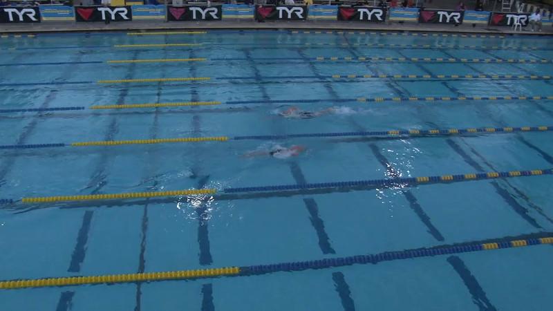 Men's 1500 Freestyle Heat 05 - 2012 Mission Viejo Swim Meet of Champions