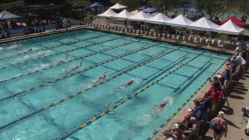 Women's 200 Backstroke Heat 04 - 2012 Mission Viejo Swim Meet of Champions
