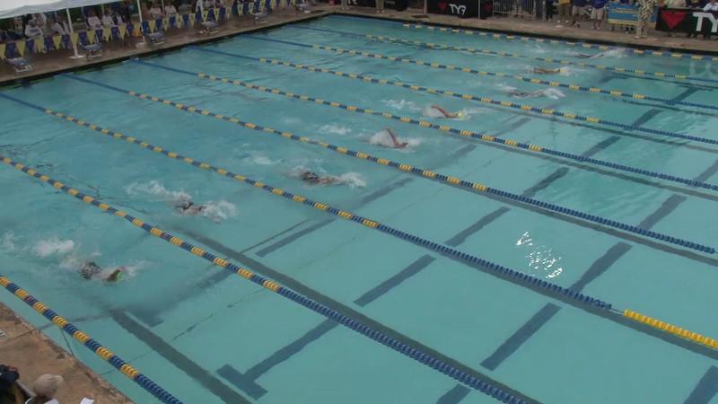 Women's 100 Backstroke Final B - 2012 Mission Viejo Swim Meet of Champions
