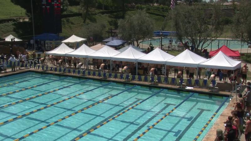 Men's 50 Freestyle Heat 07 - 2012 Mission Viejo Swim Meet of Champions