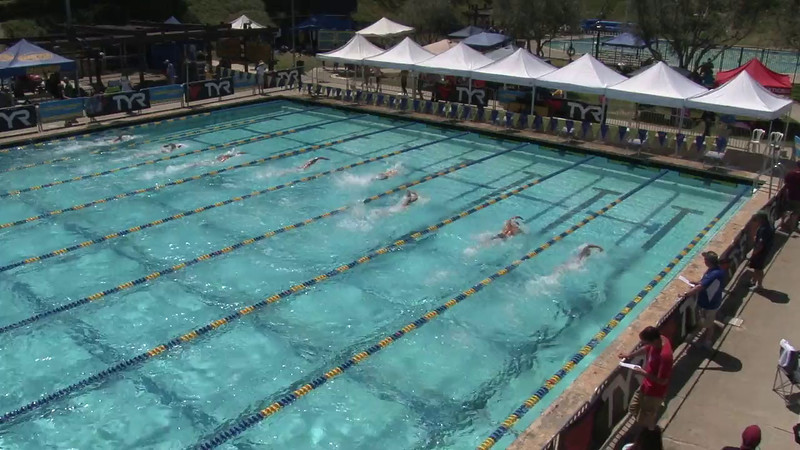 Men's 400 Freestyle Heat 01 - 2012 Mission Viejo Swim Meet of Champions
