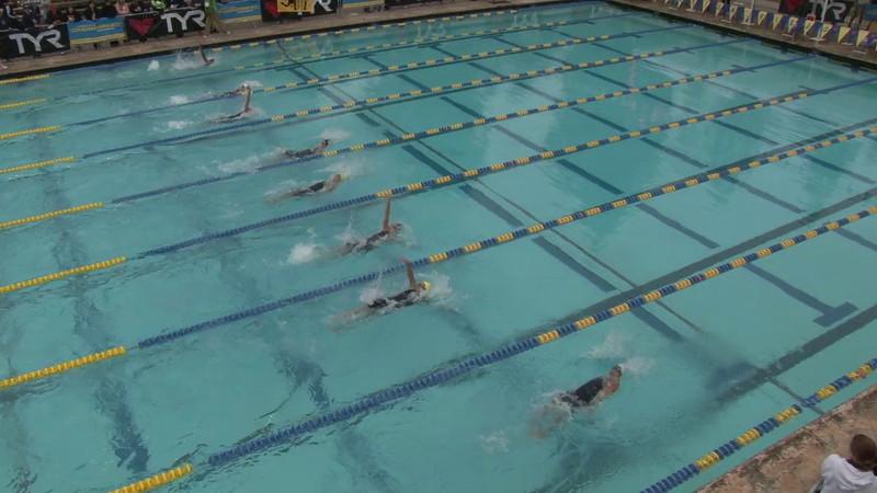 Women's 100 Backstroke Final C - 2012 Mission Viejo Swim Meet of Champions