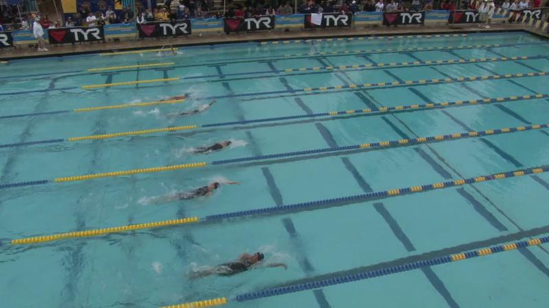 Women's 100 Backstroke Heat 15 - 2012 Mission Viejo Swim Meet of Champions