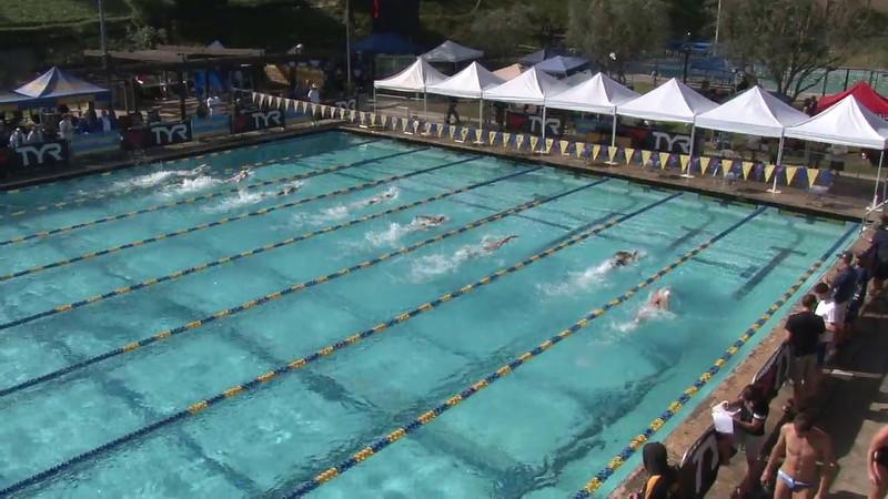 Women's 100 Freestyle Heat 15 - 2012 Mission Viejo Swim Meet of Champions