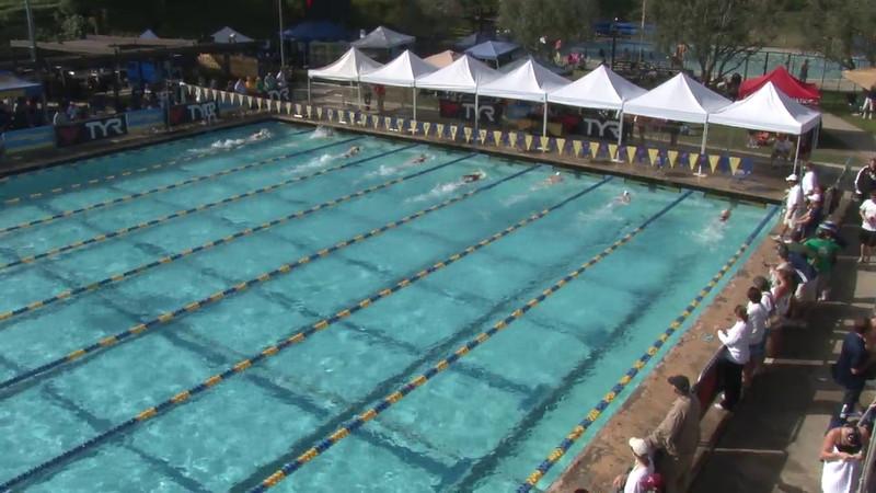 Women's 200 Freestyle Heat 03 - 2012 Mission Viejo Swim Meet of Champions