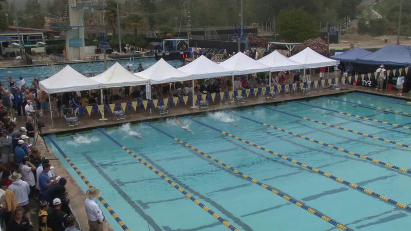 Women's 100 Backstroke Heat 16 - 2012 Mission Viejo Swim Meet of Champions