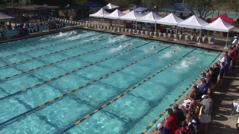 Men's 100 Freestyle Heat 10 - 2012 Mission Viejo Swim Meet of Champions