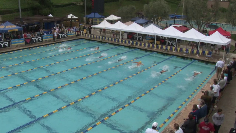 Men's 100 Breaststroke Heat 14 - 2012 Mission Viejo Swim Meet of Champions