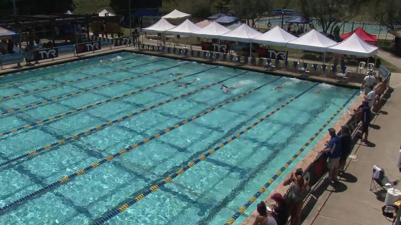 Men's 400 Freestyle Heat 03 - 2012 Mission Viejo Swim Meet of Champions