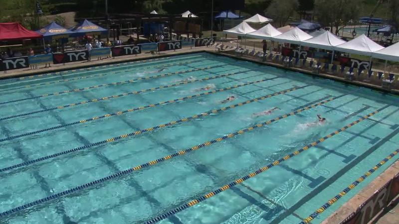 Women's 400 Freestyle Heat 12 - 2012 Mission Viejo Swim Meet of Champions