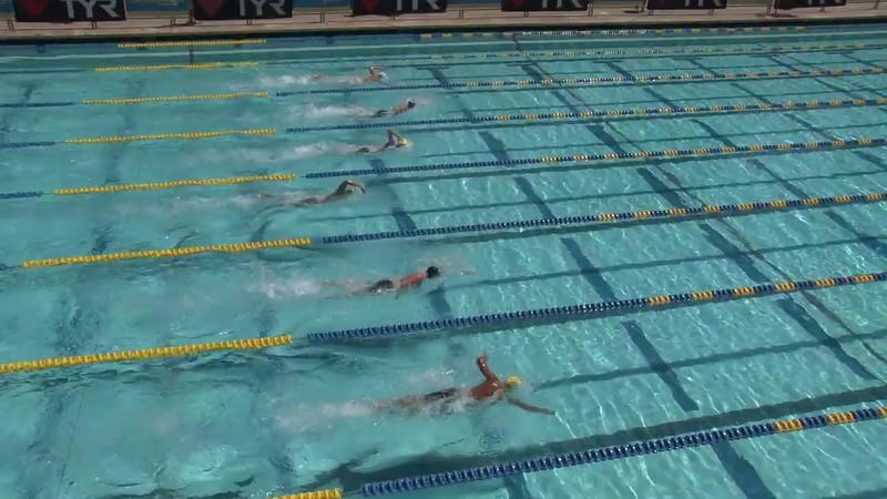 Men's 400 Freestyle Heat 11 - 2012 Mission Viejo Swim Meet of Champions