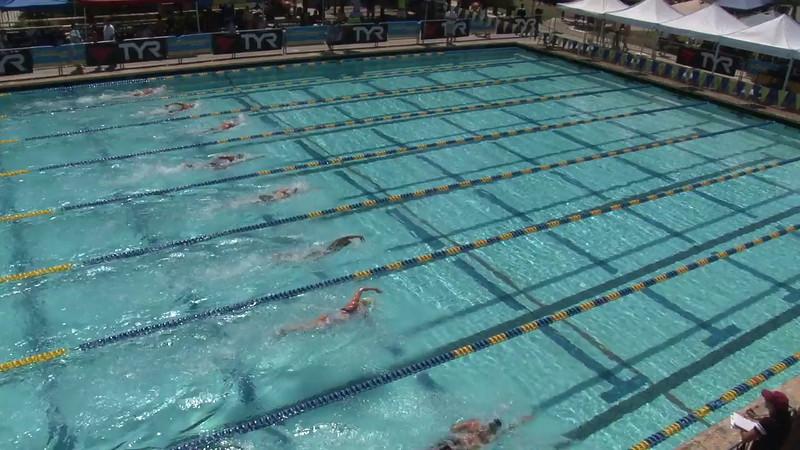 Women's 400 Freestyle Heat 02 - 2012 Mission Viejo Swim Meet of Champions