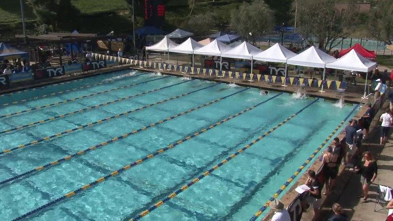 Women's 100 Freestyle Heat 14 - 2012 Mission Viejo Swim Meet of Champions