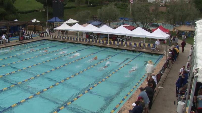 Women's 200 Medley Heat 01 - 2012 Mission Viejo Swim Meet of Champions