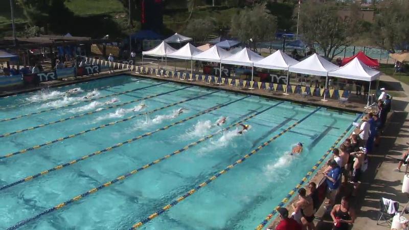 Men's 100 Freestyle Heat 05 - 2012 Mission Viejo Swim Meet of Champions