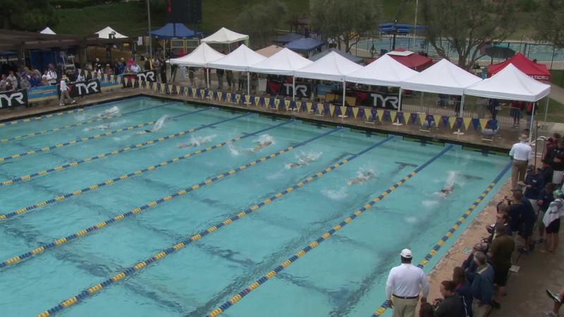Women's 100 Breaststroke Heat 07 - 2012 Mission Viejo Swim Meet of Champions