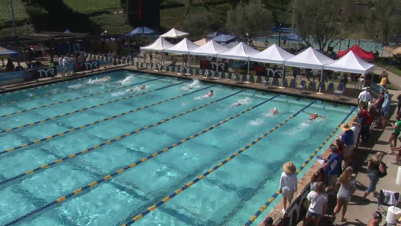 Men's 200 Breaststroke Heat 03 - 2012 Mission Viejo Swim Meet of Champions