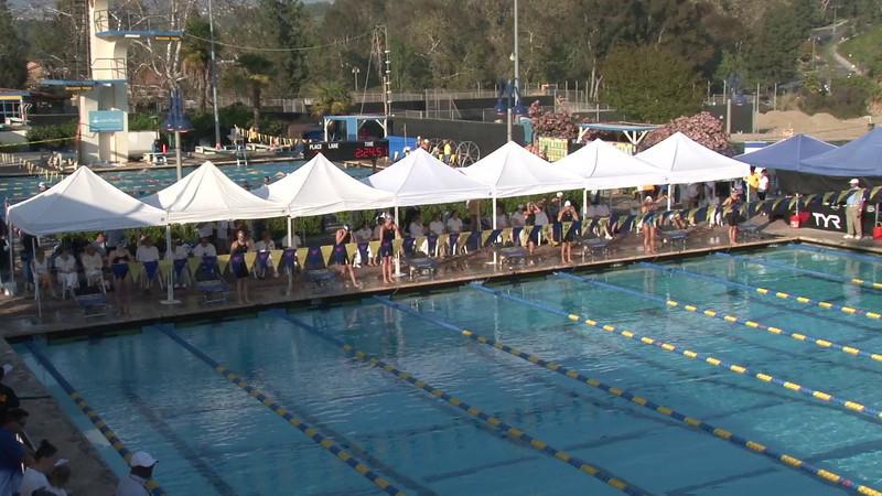 Women's 200 Backstroke Final B - 2012 Mission Viejo Swim Meet of Champions