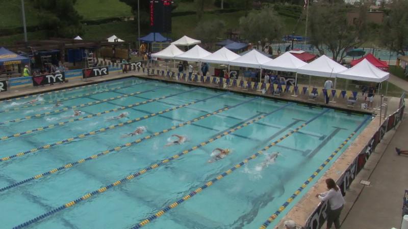 Women's 1500 Freestyle Heat 01 - 2012 Mission Viejo Swim Meet of Champions
