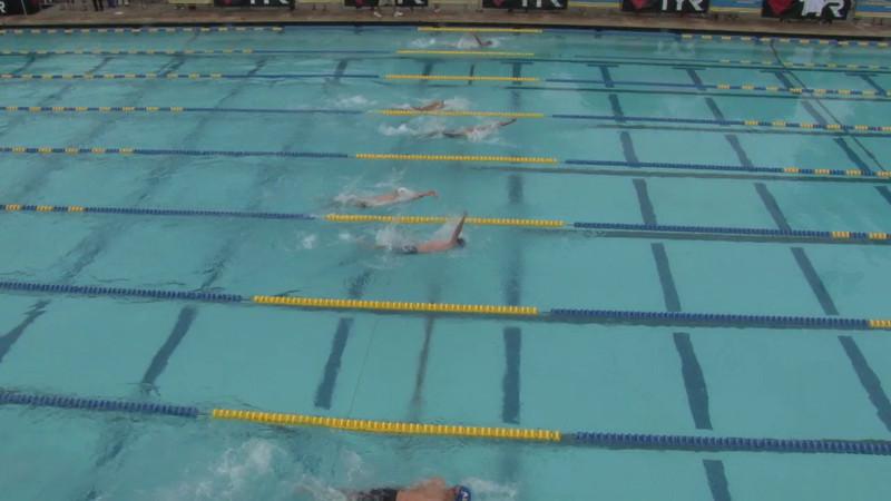 Men's 100 Backstroke Heat 07 - 2012 Mission Viejo Swim Meet of Champions