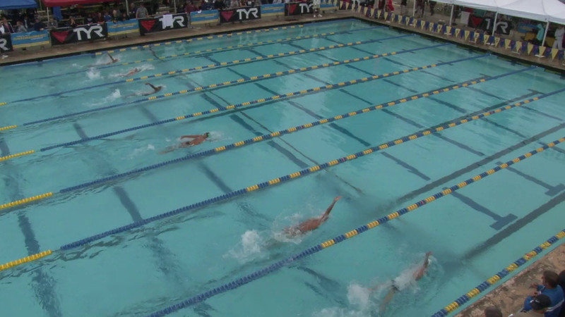 Men's 100 Backstroke Heat 11 - 2012 Mission Viejo Swim Meet of Champions