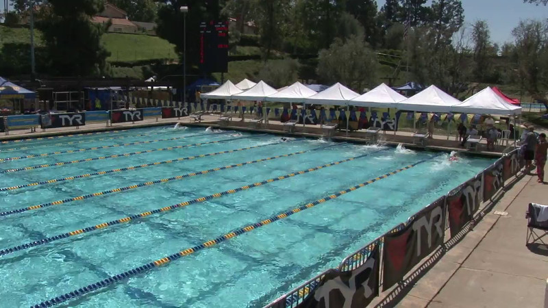 Men's 400 Freestyle Heat 08 - 2012 Mission Viejo Swim Meet of Champions