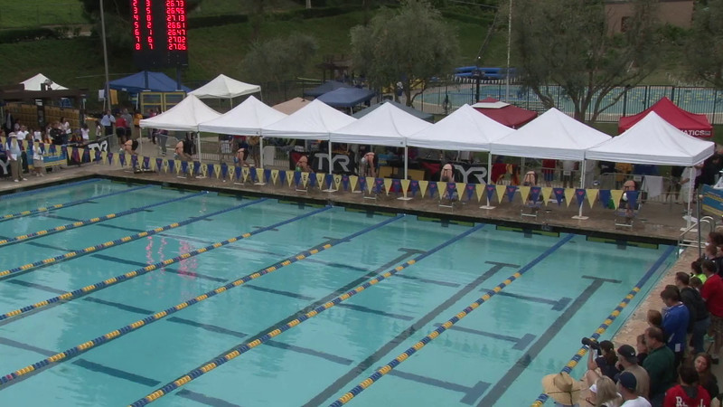 Women's 50 Freestyle Final B - 2012 Mission Viejo Swim Meet of Champions
